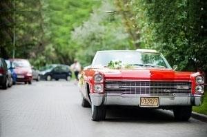Samochód do ślubu Cadillac-auto na wesele Nestor