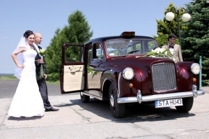 Austin taxi london wynajem auta do ślubu