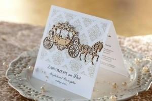 Zaproszenia ślubne - Royaldekor