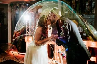 Artystyczny pokaz baniek mydlanych Bubbles & ART